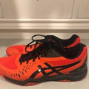 ASICS men's tennis shoes size 13